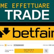 Come effettuare un trade – Corso di base di Betfair – Betting Exchange